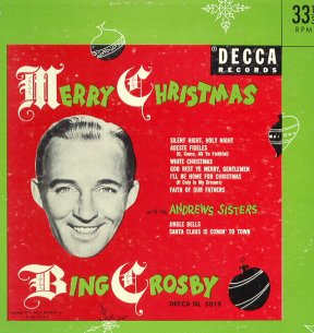 Bing Crosby Christmas Album.Merry Christmas From Bing Crosby Bing Crosby Internet